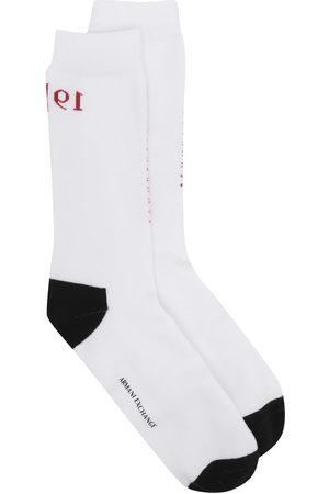 Armani Stitched logo ankle socks