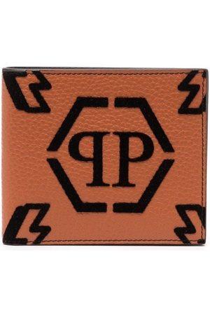 Philipp Plein Monogram-print bifold wallet