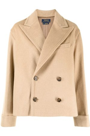 Polo Ralph Lauren Double-Breasted Wool-Blend Coat