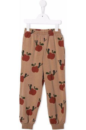 Weekend House Kids. Apple print track pants