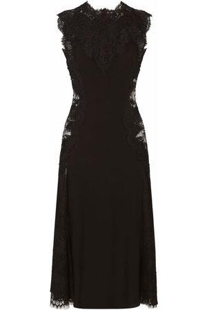 Dolce & Gabbana Dames Feestjurken - Lace-panelled midi dress