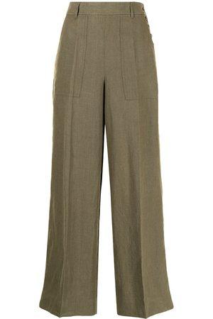 Polo Ralph Lauren Wide-leg linen trousers