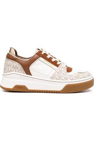 Michael Kors Dames Sneakers - Lexi monogram-trim sneakers
