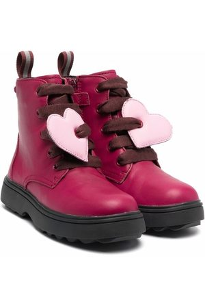 Camper Heart-patch boots