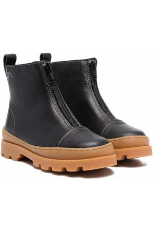 Camper Kids Half-zip ankle boots