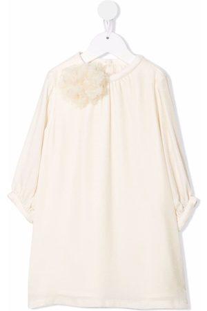 BONPOINT Panne velvet-effect shirt dress