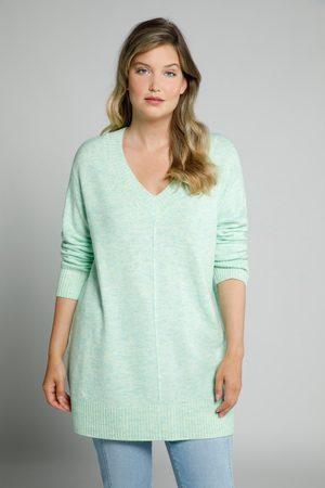Ulla Popken Grote Maten Pullover, Dames, turquoise
