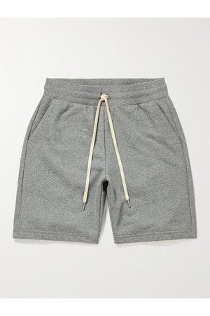 JOHN ELLIOTT Crimson Cotton-Blend Jersey Drawstring Shorts