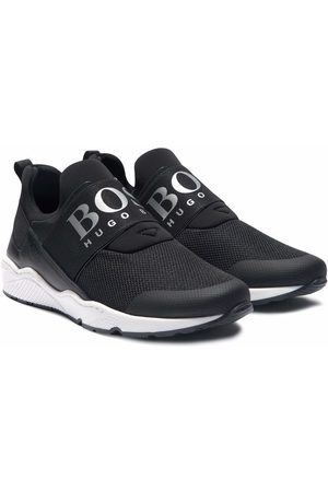 HUGO BOSS Logo-print slip-on sneakers