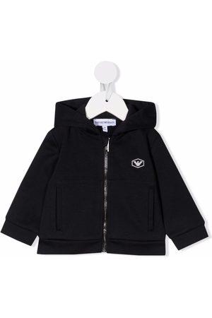 Emporio Armani Kids Chest logo-print jacket