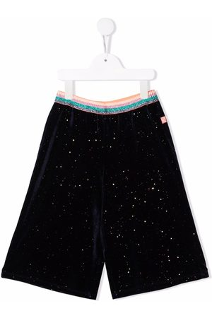 Billieblush Striped-print waistband shorts