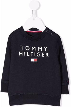 Tommy Hilfiger Junior Logo-print organic cotton sweatshirt