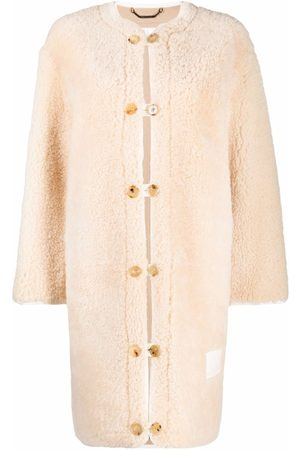 Chloé Single-breasted shearling coat