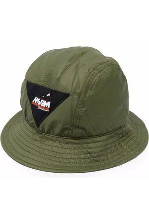 Msgm Logo-patch bucket hat