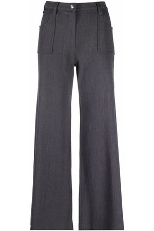 Christian Dior 2001 pre-owned high-waisted flared trousers