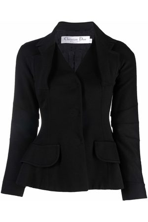 Christian Dior Dames Donsjassen - 2006 pre-owned single-breasted bar jacket