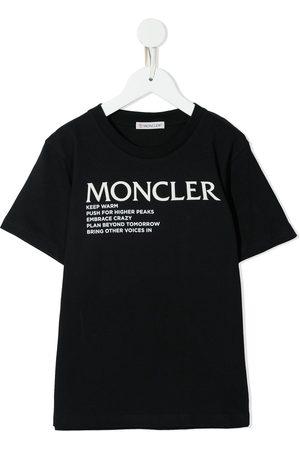 Moncler Text print T-shirt