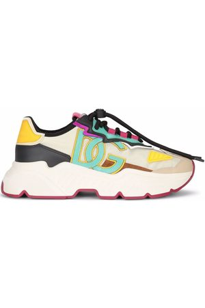 Dolce & Gabbana Logo-patch lace-up sneakers