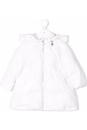 Emporio Armani Kids Cotton hooded raincoat