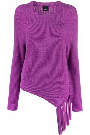 Pinko Asymmetrical tassel-trim jumper