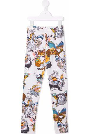 Molo Animal-print leggings