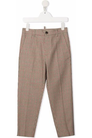 Dsquared2 Kids Check-print tailored trousers
