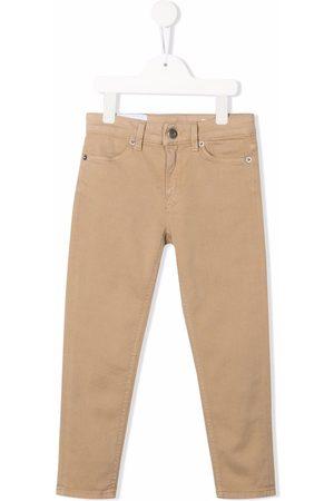 Dondup Kids Meisjes Straight - Mid-rise straight-leg jeans