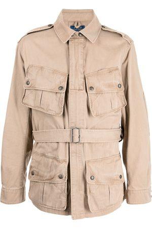 Polo Ralph Lauren Heren Leger jassen - Multi-pocket belted paratrooper jacket