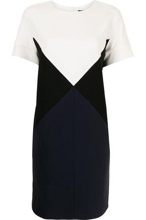 Paule Ka Colour-block panelled T-shirt dress