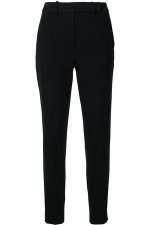 Paule Ka Dames Broeken - Straight-leg crepe trousers