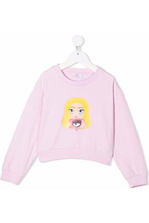 Chiara Ferragni Kids Chiara Mascot-motif sweatshirt