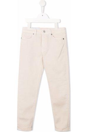 Dondup Kids Mid-rise straight-leg jeans