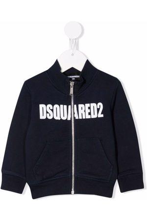 Dsquared2 Kids Zip-front cotton sweatshirt