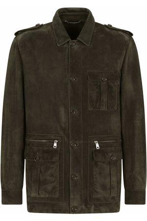 Dolce & Gabbana Lamb skin military jacket