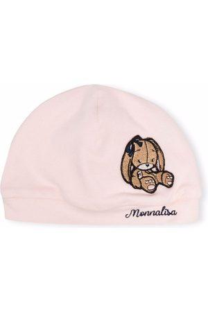 Monnalisa Bunny logo knitted hat