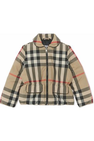 Burberry Vintage check puffer down jacket