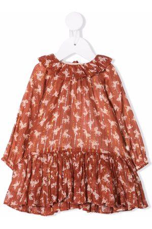 Molo Kids Horse print dress
