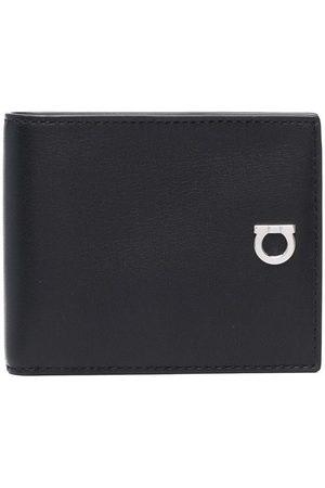 Salvatore Ferragamo Gancini detail leather wallet