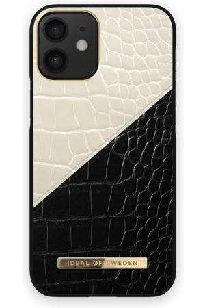 Ideal of sweden Atelier Case iPhone 12 Mini Cream Black Croco