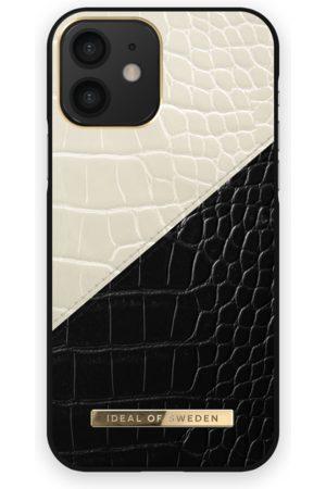 Ideal of sweden Telefoon hoesjes - Atelier Case iPhone 12 Cream Black Croco