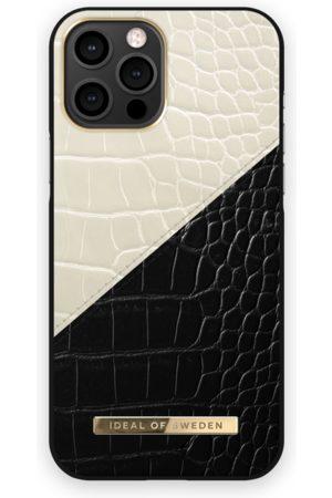 Ideal of sweden Telefoon hoesjes - Atelier Case iPhone 12 Pro Max Cream Black Croco