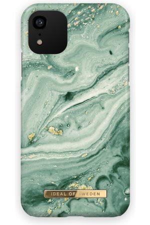 Ideal of sweden Telefoon hoesjes - Fashion Case iPhone XR Mint Swirl Marble