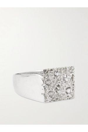 Bleue Burnham Heren Ringen - 9-Karat Recycled Gold Sapphire Ring