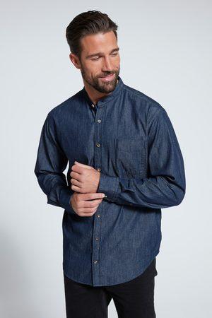 JP1880 Grote Maten Jeansoverhemd, Heren