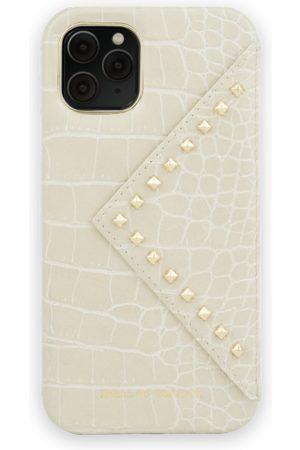 Ideal of sweden Telefoon hoesjes - Statement Case iPhone 11 Pro Beatstuds Cream Croco