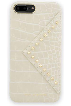 Ideal of sweden Statement Case iPhone 8 Plus Beatstuds Cream Croco