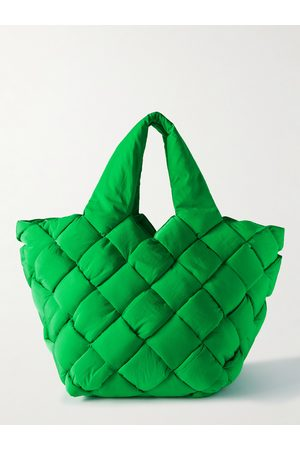 Bottega Veneta Heren Shoppers - Cassette Intrecciato Paper Nylon Tote Bag