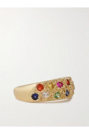 Bleue Burnham Heren Ringen - 9-Karat Recycled Sapphire Ring