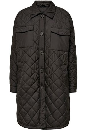 Only Long Quilted Jacket Dames