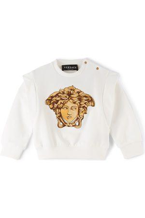 Versace Baby White Medusa Sweatshirt